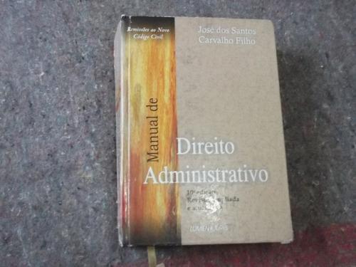 livro- direito administrativo -  carvalho filho -2003