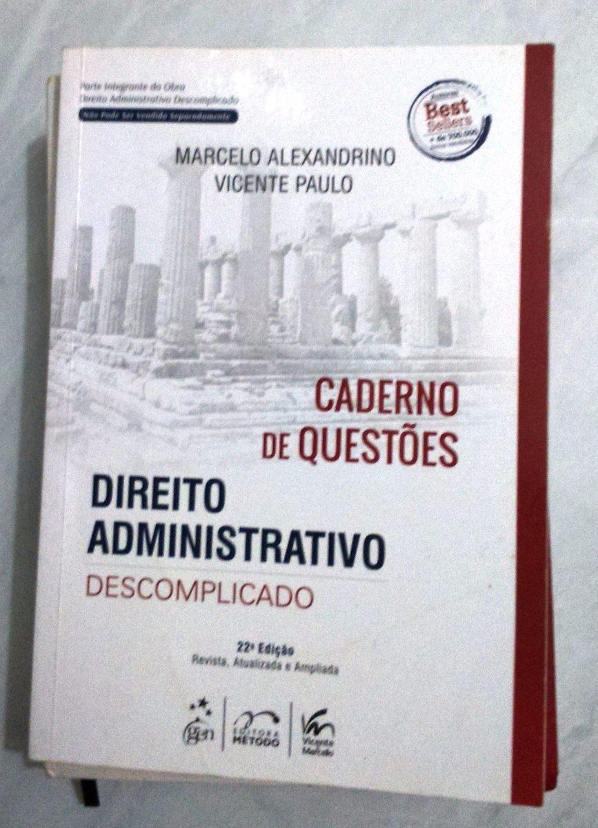 gratis o livro direito administrativo descomplicado