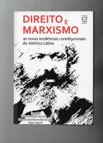 livro: direito e marxismo - as novas tendências constitucion