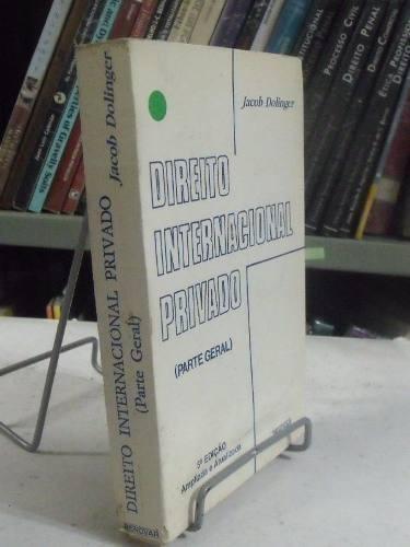 livro - direito internacional privado - jacob dolinger