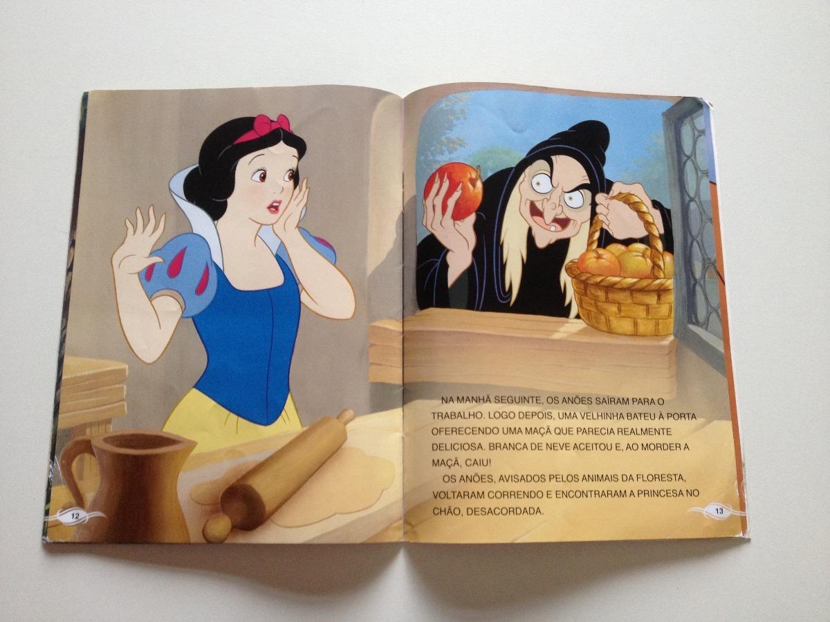 Livro Disney Princesas Branca De Neve E Os Sete Anões - R$ 18,00 em Mercado Livre
