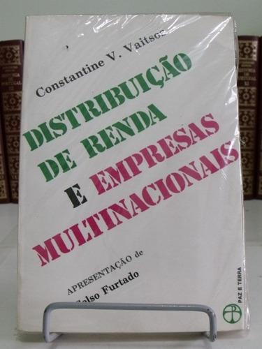 livro - distribuição de renda e empresas multinacionais