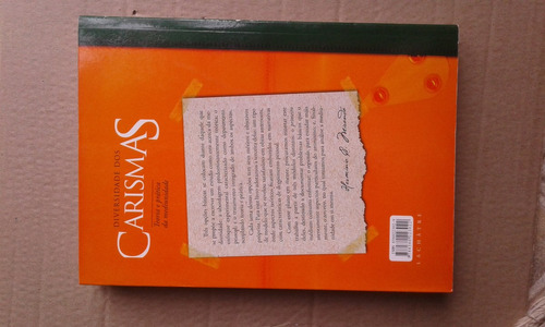 livro diversidade dos carismas - teoria prática da mediunida