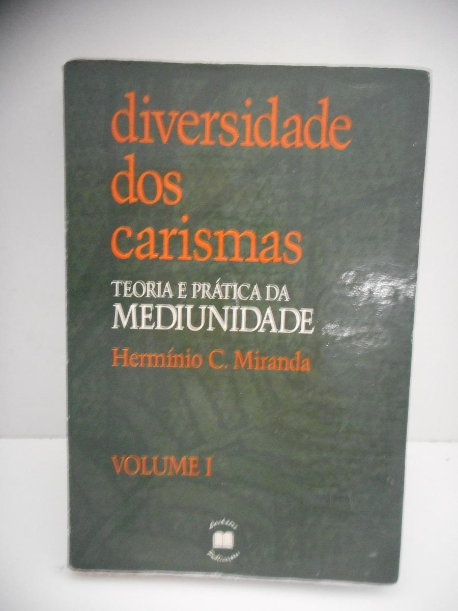 livro diversidade dos carismas