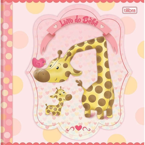 livro do bebe menina capa dura 34 fls 124231 tilibra 26393