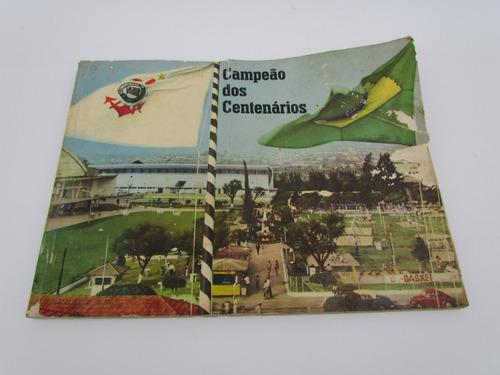 livro do corinthians campeões dos centenários1965 de vaney