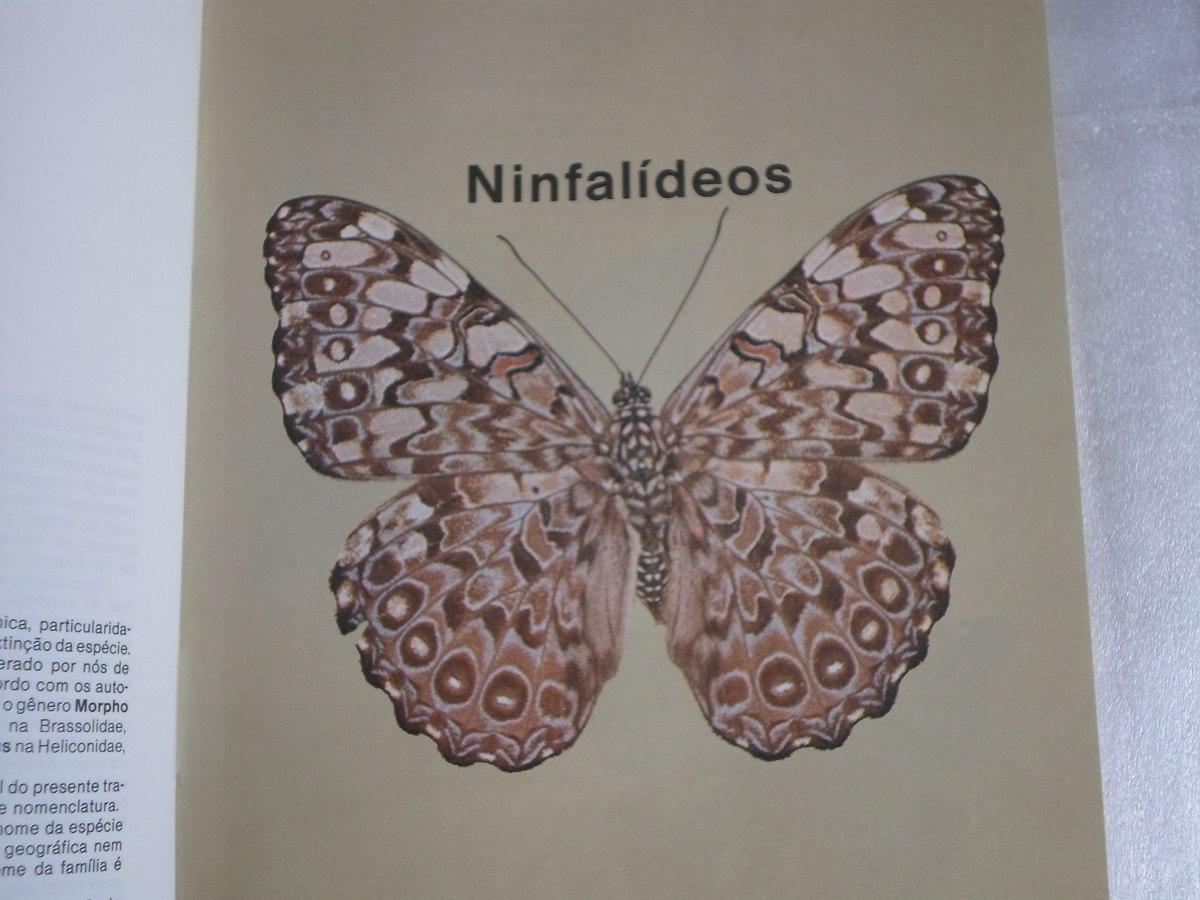 livro do naturalista borboletas luiz soldedade otero ed 1986