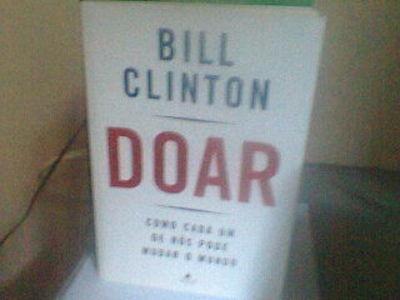livro doar bill clinton