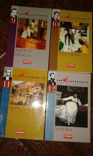 livro. dom casmurro/primo basílio/senhora/cortiço. avulso