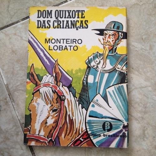 livro dom quixote das crianças - monteiro lobato