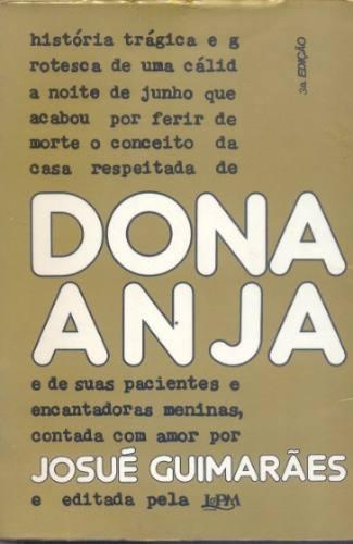 livro dona anja - 1978