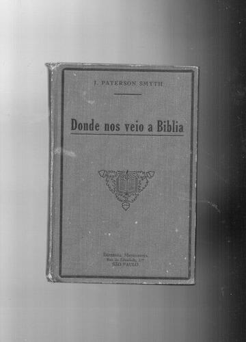 livro: donde nos veio a bíblia