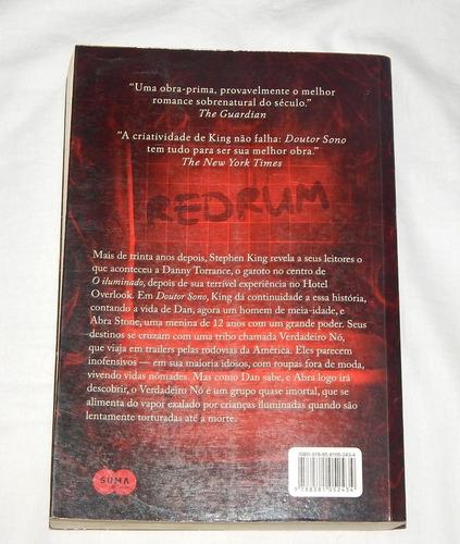 livro: doutor sono - stephen king