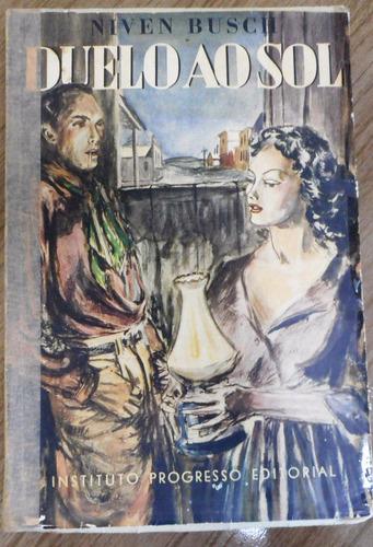 livro duelo ao sol - niven busch 1947