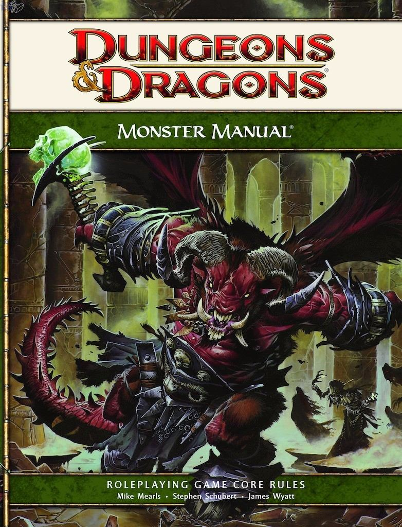 livro - dungeons & dragons 4° ed - monster manual. Carregando zoom.