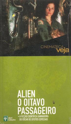 livro dvd - alien o oitavo passageiro - cinemateca veja nº18