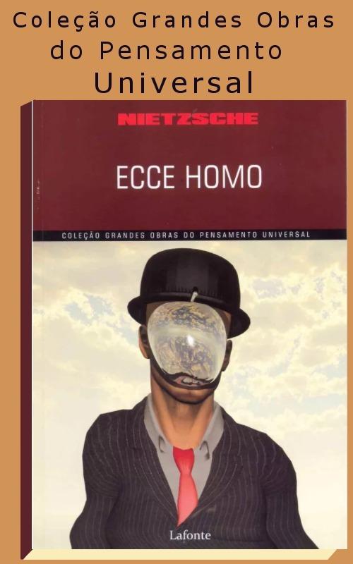 Livro Ecce Homo Nietzsche Lafonte