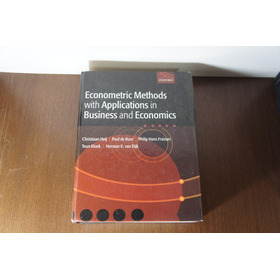 Livro Econometric Methods With Applications In Business And