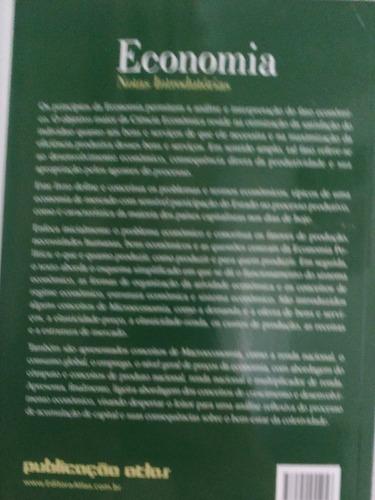 livro economia notas introduórias