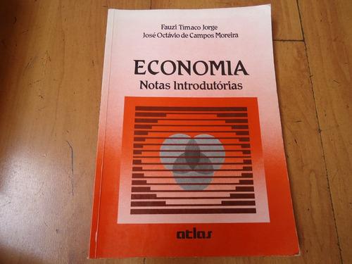 livro economia, notas introdutórias, de fauzi tímaco jorge