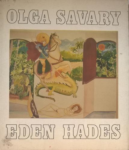 livro eden hades - autografado olga savary