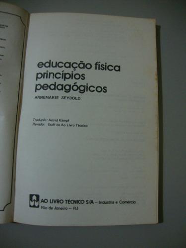 livro educação física princípios pedagógicos