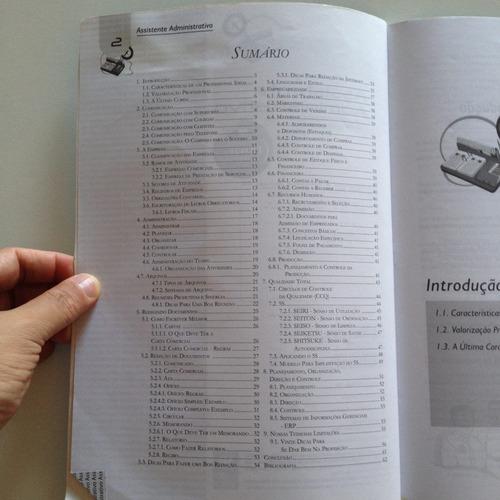 livro educação prof. senai-rj assistente administrativo c2