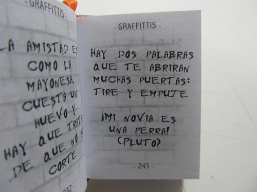livro em espanhol - graffittis