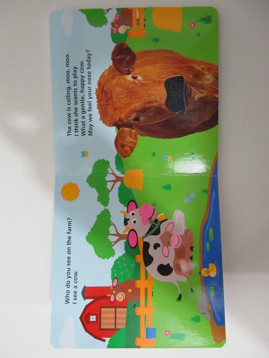 Livro Em Ingl 234 S Baby Einstein Touch And Feel Farm