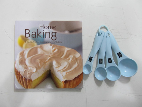 livro em inglês - home baking: joy of baking
