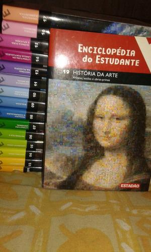 livro. enciclopédia do estudante. estadão. avulso