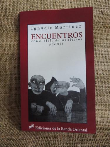 livro encuentros - ignacio martínez - poemas