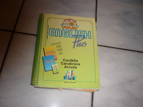 livro - english plus book four - cordélia-canabrava-arruda