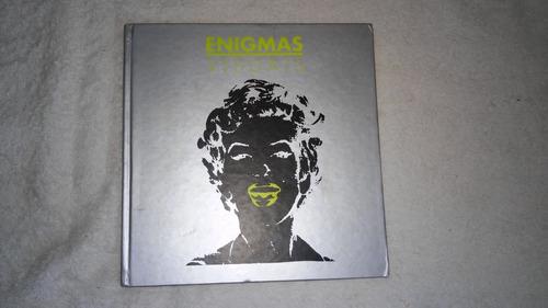 livro enigmas visuais - jorge sayão  - ano 2004 artes