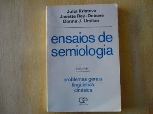 livro - ensaios de semiologia - volume 1 - julia kristeva