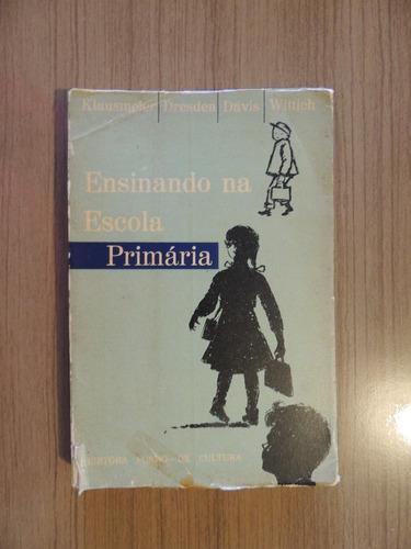 livro ensinando na escola primaria vol 2 klausmeier e outros