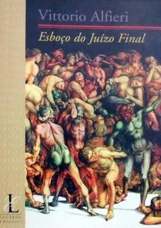 livro esboço do juízo final - vittorio alfieri
