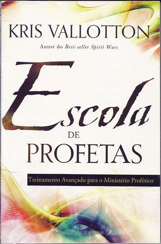 livro escola de profetas - treinamento ministério profético