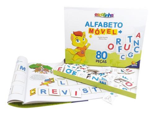 livro escolinha alfabeto móvel todolivro