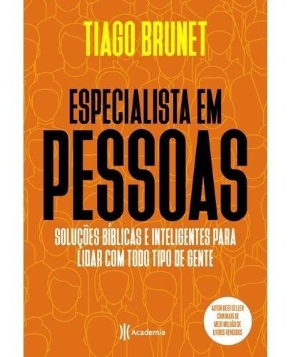 livro especialista em pessoas tiago brunet soluções bíblicas