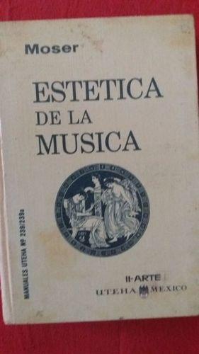 livro estetica de la musica hans joachim moser