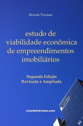 livro estudo de viabilidade econômica imobiliária r trevisan