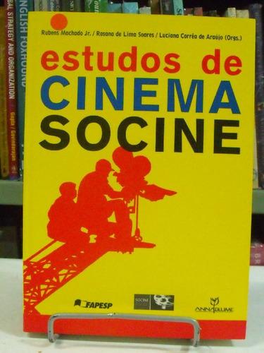 livro - estudos de cinema socine - rubens machado jr.