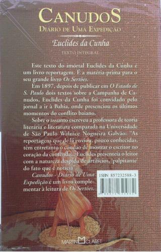 livro euclides da cunha - canudos, diário de uma expedição