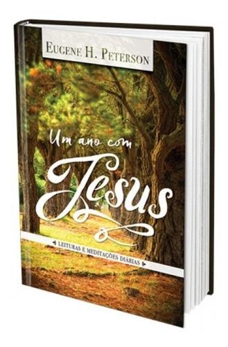 livro eugene peterson - um ano com jesus - devocional