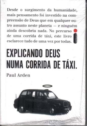 livro - explicando deus numa corrida de táxi