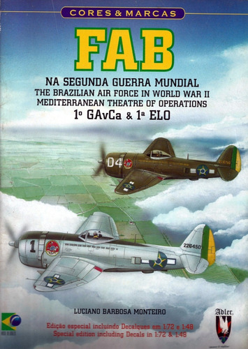 livro - fab na segunda guerra mundial