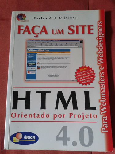 livro faça um site orientado por projeto html 4.0