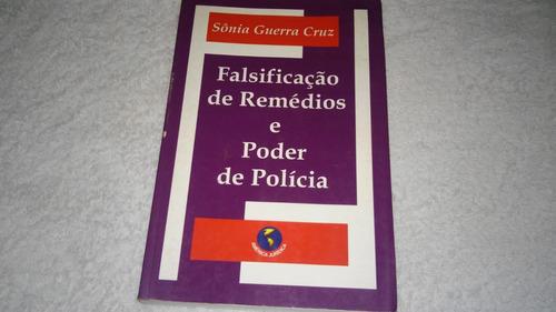livro falsificação de remédio e poder de policia