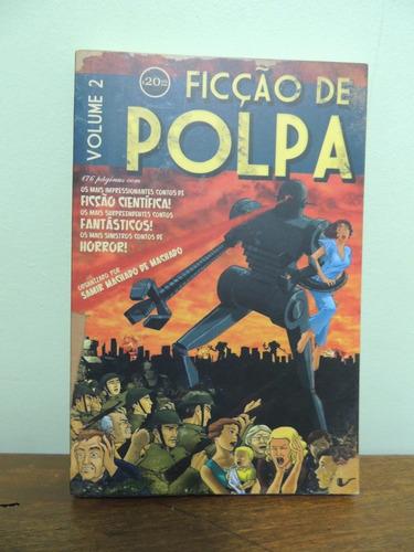 livro ficção de polpa volume 2